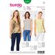 Patron Burda Style 6501 Top