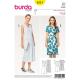 Patron Burda Style 6511 Robe