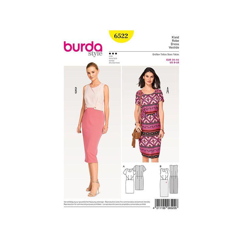 Patron Burda Style 6522 Robe
