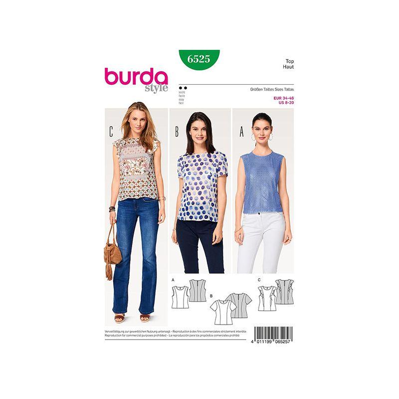 Patron Burda Style 6525 Top