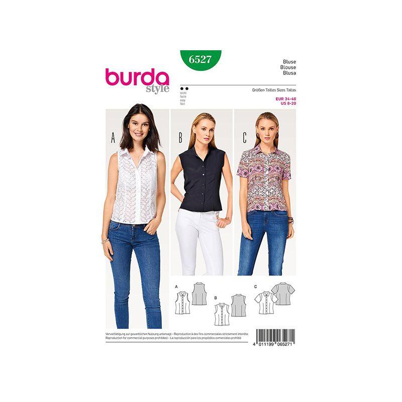 Patron Burda Style 6527 Blouse