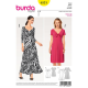 Patron Burda Style 6531 Robe