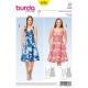 Patron Burda Style 6536 Robe