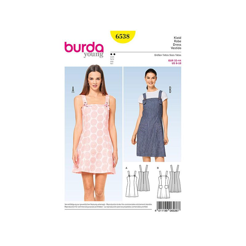 Patron Burda Style 6538 Robe