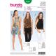 Patron Burda Style 6541 Haut et Robe