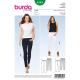 Patron Burda Style 6543 Pantalon