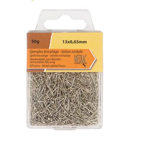 Epingle Brico T14 Laiton 50gr