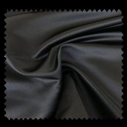 Tissu Satin Duchesse Uni Noir