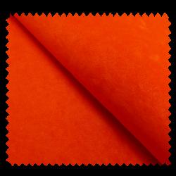 Tissu Velourette Unie Antelina Orange