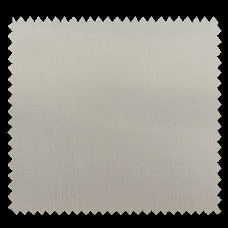 Toile Batiste Ivoire 100% Coton Peigne