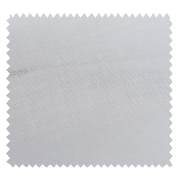 Tissu Organdi Blanc 100% Coton Peigné