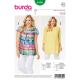 Patron Burda Style 6550 Blouse