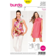 Patron Burda Style 6555 Haut et Robe
