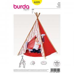 Patron Burda Style 6559 Tente pour enfants