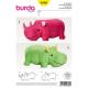 Patron Burda Style 6560 Animal en Peluche