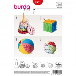 Patron Burda Style 6561 Jeux pour Enfants
