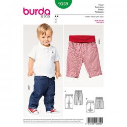 Patron Burda Kids 9359 Pantalon Enfant