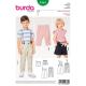 Patron Burda Kids 9365 Pantalon