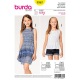 Patron Burda Kids 9367 Haut et Robe
