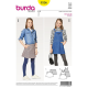 Patron Burda Kids 9356 Jupe Salopette