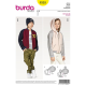 Patron Burda Kids 9355 Veste Blouson Capuche