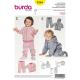 Patron Burda Kids 9349 Veste Pantalon