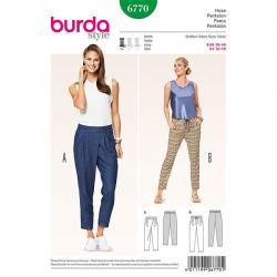 Patron Burda Style 6770 Pantalon 36/46