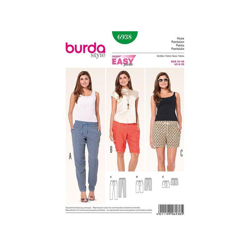 Patron Burda Style 6938 Pantalon 32/46
