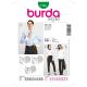 Patron Burda Style 7136 Chemisier Blouse 36/50