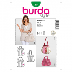 Patron Burda Style 7264 Sacs
