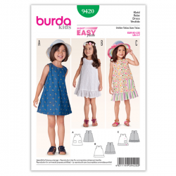 Patron Burda Kids 9420 Robe 92/122CM