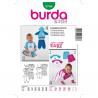 Patron Burda Kids 9748 Ensemble 68/98