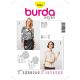 Patron Burda Style 2561 Chemise 34/46