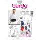 Patron Burda Style 3403 Gilet Accessoires 46/60