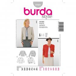 Patron Burda Style 8949 Veste 34/46