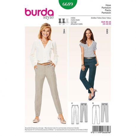 PPatron Burda Style 6689 Pantalon 36/46