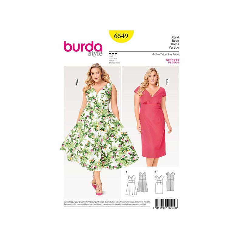 Patron Burda Style 6549 Robe