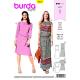 Patron Burda Style 6413 Robe Taille 34/46
