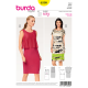 Patron Burda Style 6508 Robe