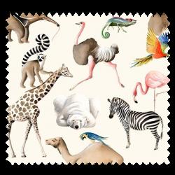 Tissu Tous au Zoo