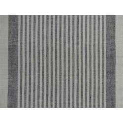 Tissu Pour Torchon Natura Lin Noir