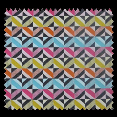 Jacquard Sequence All Over géométrique Muticolore