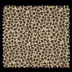 Tissu Jersey Coton Imprimé Léopard Beige