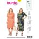 Patron Burda Style 6304 Robe pour Femmes de 48 à 58