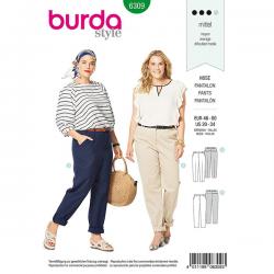 Patron Burda Style 6309 Pantalon pour Femmes de 48 à 62