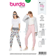 Patron Burda Style 6317 Pantalon pour Femmes de 36 à 48