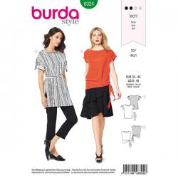 Patron Burda Style 6324 Blouse pour Femmes de 36 à 46