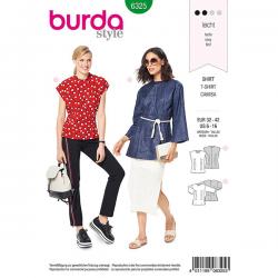 Patron Burda Style 6325 Blouse pour Femmes de 34 à 44