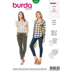 Patron Burda Style 6326 Chemisier pour Femmes de 36 à 46