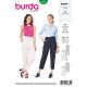 Patron Burda Style 6332 Pantalon pour Femmes de 36 à 46